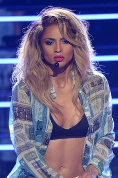 Ciara at the BET awards.That woman is untouchable.......................pretty much.