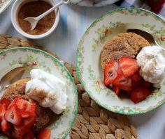 Joy the Baker – Snickerdoodle Strawberry Shortcakes