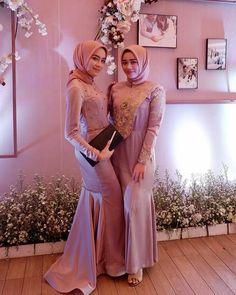 Kebaya Muslim, Kebaya Modern Hijab, Kebaya Hijab, Kebaya Dress, Muslim Dress, Muslim Hijab, Wedding Abaya, Wedding Frocks, Muslim Wedding Dresses