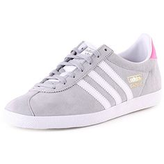 Adidas Gazelle OG W chaussures 4,5 solid grey/white/pink adidas http://www.amazon.fr/dp/B00TKCCWUU/ref=cm_sw_r_pi_dp_r3N-vb12JERK0
