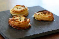 roasted potato stacks!