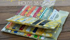 Sew the Mega 38 Card Wallet + Learn How to Bind Your Sewing Projects - Free Sewing Tutorials # credit card wallet pattern free Sew the Mega 38 Card Wallet + Learn How to Bind Your Sewing Projects – Free Sewing Tutorials Sewing Hacks, Sewing Tutorials, Sewing Crafts, Sewing Tips, Diy Crafts, Tutorial Sewing, Bag Tutorials, Pouch Tutorial, Tape Crafts