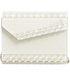 Gold Clutch, Beaded Clutch, Iridescent, Jimmy Choo, Candy, Chain, Beads, Clutches, Handbags