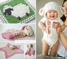 Crochet Lamb and Sheep Free Patterns