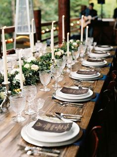 rustikal 50 Gorgeous Wedding Tablescapes To Inspire That Special Day - tisch rustikal 50 Gorgeous Wedding Tablescapes To Inspire That Special Day - Long Table Wedding, Wedding Dinner, Wedding Table Settings, Wedding Ideas, Dream Wedding, Wedding Parties, Wedding Trends, Wedding Bride, Wedding Inspiration
