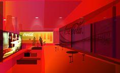 cocacola campaign website concept