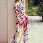 Blugirl collezione primavera estate 2014 pantalone floreale