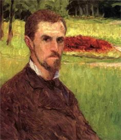 Gustave Caillebotte (French 1848–1894) [Impressionism] Self-portrait, c. 1878…