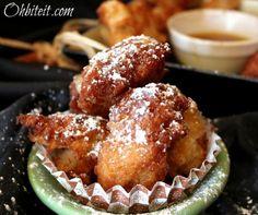 Apple Fritter Pancake Puppies | KitchenDaily.com