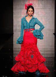 Imagen relacionada Flamenco Party, Flamenco Costume, Flamenco Dresses, Moda Fashion, Fashion Show, Fashion Outfits, Spanish Dress, Spanish Fashion, Mexican Dresses