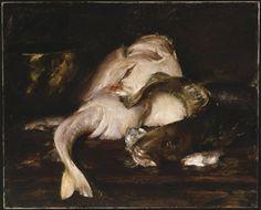 Still Life, Fish - William Merritt Chase