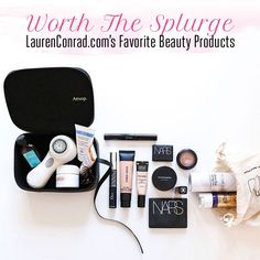 Worth the Splurge: LaurenConrad.com's Favorite Beauty Products