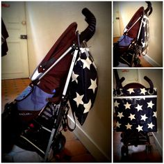 Super easy tutorial. #DIY stroller bag
