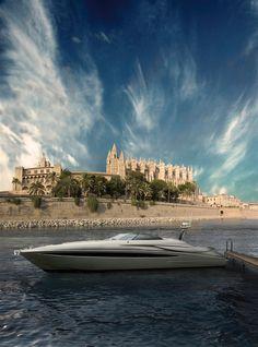 External view Riva Yacht - Rivale  #yacht #luxury #ferretti #riva