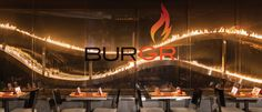 Expect juicy, succulent burgers cooked over an open flame