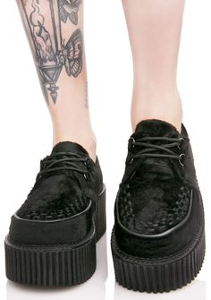 16c673d7afbb These sicc creepers feature a thick textured sole