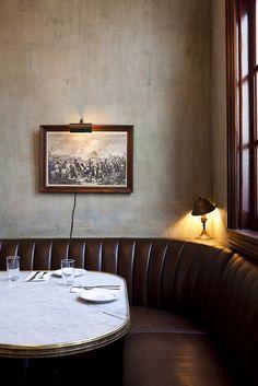 banquette detailing.....