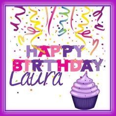 Happy Birthday Laura by catiamrbarata on Polyvore featuring art