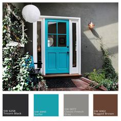Make Your Neighbors Jealous: 9 Bold Front Door Colours