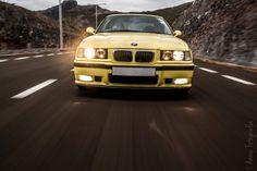 BMW E36 Coupé Dakar Yellow Edition by Anoop Jahul on 500px