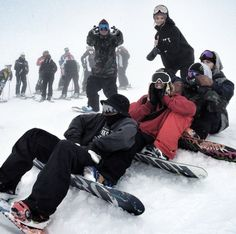 We Who Snowboard