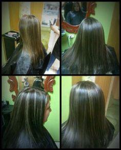Tenemos peluquería para ti, reflejos que dejaran tu cabello con una luminosidad que siempre has buscado.