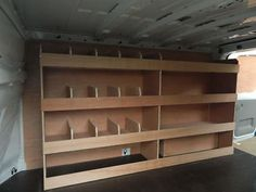 Ford Transit Custom SWB Off Side 12 Compartment Plywood, Ply Racking,Shelving in Vehicle Parts & Accessories, Commercial Vehicles Parts, Vans/Pickups Van Storage, Truck Storage, Tool Storage, Storage Shelves, Vehicle Storage, Workshop Storage, Storage Drawers, Storage Ideas, Trailer Shelving