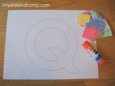 Q is for Quilt free printable activity