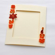 Paper Quilling Card Photo Frame Quilling by PaperSimplicity
