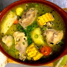 El Sancocho, traditional soup of Panama – Best Places In The World To Retire – International Living Panamanian Food, Venezuelan Food, Mexican Food Recipes, Soup Recipes, Cooking Recipes, Colombian Cuisine, Colombian Recipes, My Favorite Food, Favorite Recipes