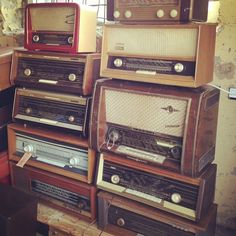 Vintage radio heaven | Flickr: Intercambio de fotos
