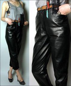 leather pants, via louisemore