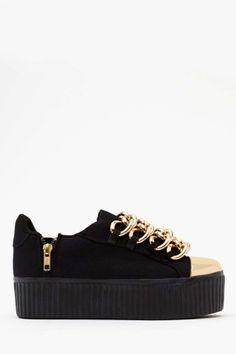 Caddy Platform Sneaker