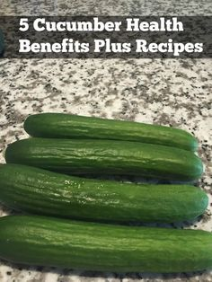 5 Cucumber Health Benefits. Cucumbers are hydrating with detoxification properties, and they aid in weight loss and constipation