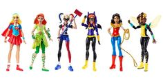 These might be the coolest gift for little boys OR little girls -- girl superhero dolls! All their favorite DC characters are now toys