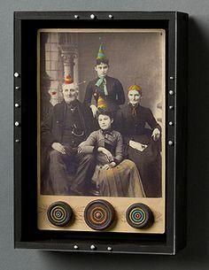 Collages/Assemblages/3D Art on Pinterest | Assemblages, Joseph ...