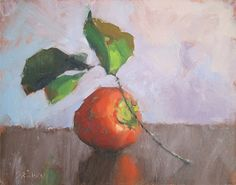 "Persimmon by Catherine Grawin Oil ~ 11"" x 14"""