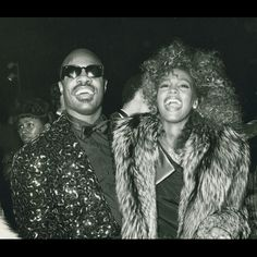 Whitney and Stevie!