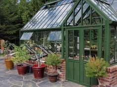 Hartley Victorian Glasshouses - Greenhouses traditional greenhouses Traditional Greenhouses, Greenhouse Gardening, Greenhouse Ideas, Potting Sheds, My Secret Garden, Glass House, Conservatory, Sunroom, Outdoor Gardens