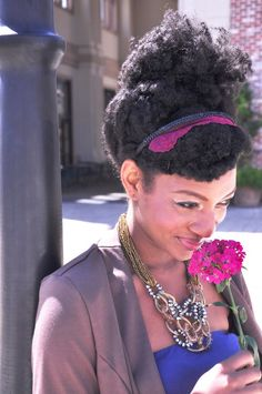 Click the image for Chantay's natural hair photos and regimen
