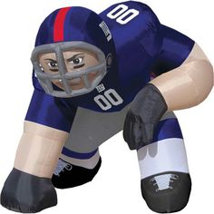 Yard inflatable football player Nfl New York Giants e7f56157c