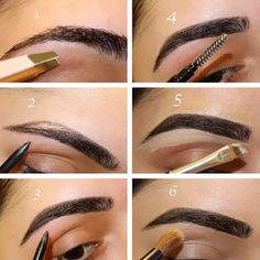 Perfect Eyebrows Made Easy With Semi Permanent Make Up How To Do Eyebrows, Filling In Eyebrows, How To Do Makeup, Shape Eyebrows, Eye Brows, Eyebrow Filling, Thicker Eyebrows, Eyebrow Makeup Products, Makeup Tips
