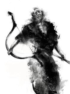 originalmente los samurais eran asociados al arco y la flecha antes que a la espada / samurai art. - Taringa!