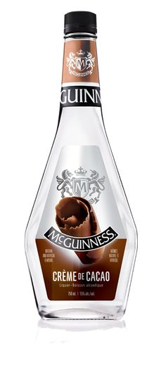 McGuinness® Crème de Cacao White smells and tastes like a mix of sweet cocoa, baked brownies, and milk fudge. A little chocolate never hurt nobody! Chocolate Cocktails, Chocolate Liqueur, Chocolate Flavors, Getting Drunk, Kakao, Wine Decanter, Cocktail Recipes, Fudge, Brownies