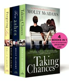 The Molly McAdams New Adult Boxed Set: Taking Chances, From Ashes, Stealing Harper, Forgiving Lies, and an excerpt from Deceiving Lies by Molly McAdams, http://www.amazon.com/dp/B00FOPTNHM/ref=cm_sw_r_pi_dp_NdqLsb178XHJX