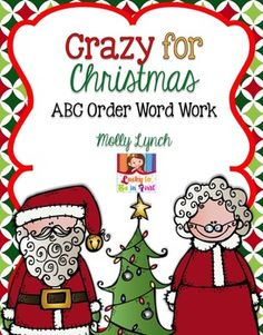 Crazy for Christmas ABC Word Work {FREEBIE}