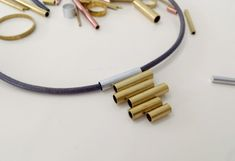DIY: Pendant from Brass Tube Offcuts