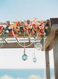 Photography: Caroline Tran - carolinetran.net Read More: http://www.stylemepretty.com/2015/05/04/coral-destination-seaside-wedding/