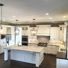 """Gorgeous kitchen by Millhaven Homes "" Photo taken by @the_real_houses_of_ig on Instagram, pinned via the InstaPin iOS App! <a href=""http://www.instapinapp.com"" rel=""nofollow"" target=""_blank"">www.instapinapp.com</a> (06/10/2015)"