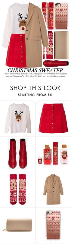 """""""SWEATER WEATHER"""" by noraaaaaaaaa ❤ liked on Polyvore featuring Ines de la Fressange, Yves Saint Laurent, Accessorize, MANGO, Mulberry and Casetify"""